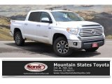 2016 Super White Toyota Tundra Limited CrewMax 4x4 #127334488