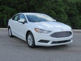 2018 Oxford White Ford Fusion S #127334627