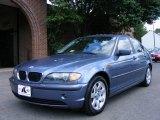 2002 Steel Blue Metallic BMW 3 Series 325i Sedan #12730382