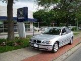 2003 Titanium Silver Metallic BMW 3 Series 325xi Sedan #12729659