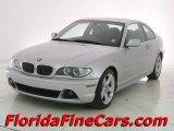 2004 Titanium Silver Metallic BMW 3 Series 325i Coupe #12717816