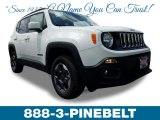 2018 Alpine White Jeep Renegade Latitude 4x4 #127334502