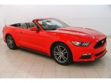 2017 Race Red Ford Mustang EcoBoost Premium Convertible #127360031