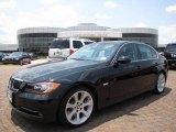 2008 Jet Black BMW 3 Series 335i Sedan #12730172