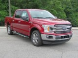2018 Ruby Red Ford F150 XLT SuperCrew #127378170