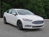2018 White Platinum Ford Fusion SE #127378166