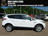 2018 Oxford White Ford Escape SEL #127378111