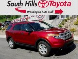 2013 Ruby Red Metallic Ford Explorer 4WD #127378136