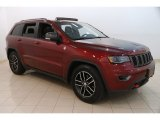 2017 Velvet Red Pearl Jeep Grand Cherokee Trailhawk 4x4 #127378322