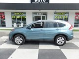 2014 Mountain Air Metallic Honda CR-V EX-L AWD #127378261