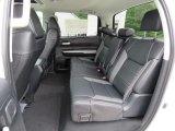 2018 Toyota Tundra Limited CrewMax 4x4 Rear Seat