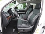 2018 Toyota Tundra Limited CrewMax 4x4 Front Seat