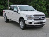 2018 White Platinum Ford F150 Platinum SuperCrew 4x4 #127378172
