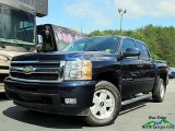 2009 Blue Granite Metallic Chevrolet Silverado 1500 LTZ Crew Cab 4x4 #127401697