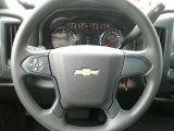 2018 Chevrolet Silverado 1500 Custom Double Cab Steering Wheel