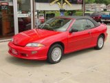 1999 Bright Red Chevrolet Cavalier Z24 Convertible #12726992