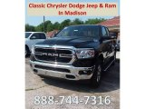 2019 Diamond Black Crystal Pearl Ram 1500 Big Horn Quad Cab 4x4 #127418363
