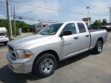 2012 Bright Silver Metallic Dodge Ram 1500 ST Quad Cab 4x4 #127418310