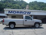 2005 Silver Birch Metallic Chevrolet Silverado 1500 Regular Cab #12718968