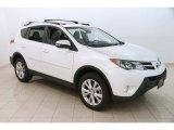 2013 Blizzard White Pearl Toyota RAV4 Limited #127437312