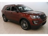 2016 Bronze Fire Metallic Ford Explorer Sport 4WD #127437298