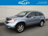 2010 Glacier Blue Metallic Honda CR-V EX AWD #127437050