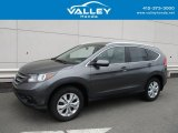2014 Polished Metal Metallic Honda CR-V EX-L AWD #127437047