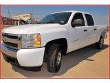 2008 Summit White Chevrolet Silverado 1500 LT Crew Cab #12725834