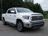 2018 Super White Toyota Tundra Platinum CrewMax #127461138
