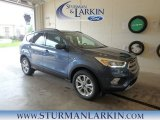 2018 Blue Metallic Ford Escape SEL 4WD #127461133
