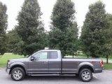 2016 Lithium Gray Ford F150 XLT SuperCab 4x4 #127461028