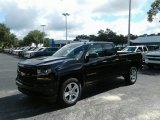 2018 Black Chevrolet Silverado 1500 Custom Double Cab #127461374