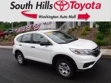 2015 White Diamond Pearl Honda CR-V LX AWD #127461117
