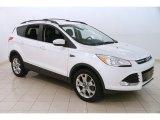 2013 White Platinum Metallic Tri-Coat Ford Escape SEL 2.0L EcoBoost 4WD #127461353