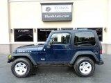 2006 Midnight Blue Pearl Jeep Wrangler Rubicon 4x4 #127486481