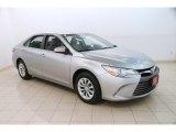 2015 Celestial Silver Metallic Toyota Camry LE #127486463