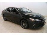 2015 Attitude Black Metallic Toyota Camry XSE #127486462