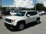 2018 Alpine White Jeep Renegade Latitude #127486509