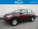 2015 Basque Red Pearl II Honda CR-V LX AWD #127486150