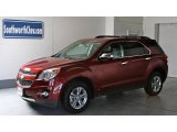 2010 Cardinal Red Metallic Chevrolet Equinox LT AWD #12732052