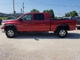 2006 Flame Red Dodge Ram 1500 SLT Mega Cab 4x4 #127513478