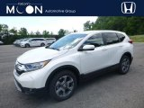 2018 White Diamond Pearl Honda CR-V EX AWD #127520932