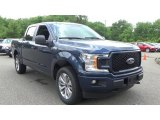 2018 Blue Jeans Ford F150 STX SuperCab 4x4 #127521118