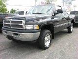1999 Black Dodge Ram 1500 SLT Extended Cab 4x4 #12729203