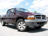 2004 Deep Molten Red Pearl Dodge Dakota SLT Quad Cab #12712504