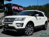 2017 White Platinum Ford Explorer Platinum 4WD #127547823