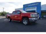 2018 Red Hot Chevrolet Silverado 1500 LTZ Crew Cab #127547991
