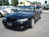 1999 Black Ford Mustang SVT Cobra Convertible #12731098