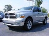 2009 Bright Silver Metallic Dodge Ram 1500 SLT Quad Cab 4x4 #12723096