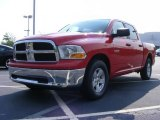 2009 Flame Red Dodge Ram 1500 SLT Crew Cab #12723091